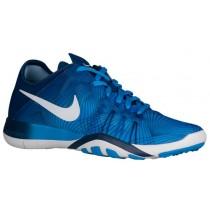 Nike Free Tr 6 Blau Glühen/Weiß/Küsten Blau Damen Sportschuhe