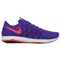 Nike Flex Fury 2 Fierce Perle/Schwarz/Weiß/Hell Crimson Damen Running Schuhe