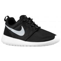 Nike Roshe One Schwarz/Weiß/Metallic Platin Damen Runningschuh