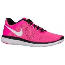 Nike Flex 2016 Rn Rosa Blast/Schwarz/Elektrisch Grün/Weiß Damen Running Schuhe