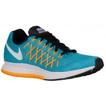 Nike Air Zoom Pegasus 32 Gamma Blau/Laser Orange/Farbig Orange/Weiß Damen Running Schuhe