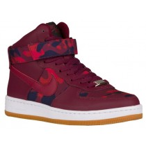 Nike Air Force 1 Ultra Force Mid Prt Camo Print Damen Sneakers Dunkel Granat