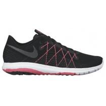 Nike Flex Fury 2 Schwarz/Hyper Rosa/Anthrazit/Metallic Hämatit Damen Schuhschaft