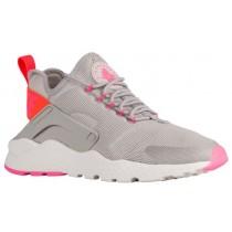 Nike Air Huarache Run Ultra Damen Laufschuh Licht Eisern Ore/Gesamt Crimson/Rosa Blast