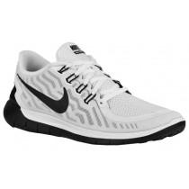 Nike Free 5.0 2015 Weiß/Schwarz Damenschuhe