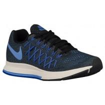 Nike Air Zoom Pegasus 32 Schwarz/Rennfahrer Blau/Sail/Kreide Blau Damen Running Schuhe