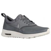 Nike Air Max Thea Premium Cool Grau/Sail/Metallic Zinn Damen Sneakeres