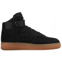 Damen Nike Air Force 1 High Suede Schwarz Athletic