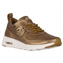 Nike Air Max Thea Joli Metallic Golden Hellbraun Damen Turnschuhe