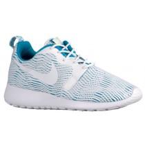 Nike Roshe One Hyper Premium Damen Sneakers Weiß/Blau Lagoon/Ghost Grün