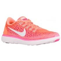 Nike Free Rn Distance Damen Sports Atomar Orange/Feuer Rosa/Rosa Blast/Weiß