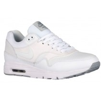Nike Air Max 1 Ultra Essentials Weiß/Wolf Grau/Rein Platin/Metallic Silber Damen Schuhschaft