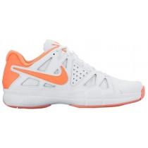 Nike Air Vapor Advantage Weiß/Atomar Rosa/Hell Mango Damenschuhe