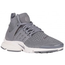 Nike Air Presto Ultra Flyknit Cool Grau/Summit Weiß Damen Sports
