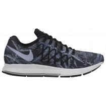 Nike Air Zoom Pegasus 32 Solstice Damen Laufschuhe Schwarz/Rein Platin/Reflektierend Silber