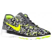 Nike Free 5.0 Tr Fit 5 Cool Grau/Schwarz/Volt Damen Sports