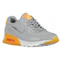 Nike Air Max 90 Essential Damen Turnschuhe Wolf Grau/Laser Orange/Gesamt Orange/Cool Grau