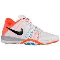 Nike Free Tr 6 Weiß/Schwarz/Gamma Blau/Gesamt Orange Damen Sportschuhe