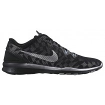 Nike Free 5.0 Tr Fit 5 Schwarz/Metallic Silber/Fit Silber Damenschuhe