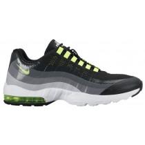 Nike Air Max 95 Ultra Schwarz/Anthrazit/Dunkel Grau/Volt Damen Schuhschaft