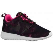 Nike Roshe One Premium Hyper Damen Sneakersnstuff Schwarz/Rosa Blast/Laser Orange