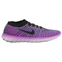 Nike Free Rn Motion Hyper Violett/Gamma Blau/Gesamt Crimson/Schwarz Damen Running Schuhe