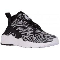 Damen Nike Air Huarache Run Ultra Schwarz/Weiß Turnschuhe