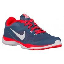 Nike Flex Trainer 5 Damen Runningschuh Ozean Fog/Hell Crimson/Weiß