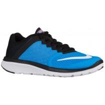 Nike Fs Lite Run 3 Damen Runningschuh Blau Glühen/Schwarz/Hell Mango/Weiß