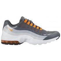 Nike Air Max 95 Ultra Dunkel Grau/Cool Grau/Wolf Grau/Gesamt Orange Damenschuh