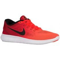 Nike Free Rn Hypernational Gesamt Crimson/Gym Rot/Weiß/Schwarz Damensneake