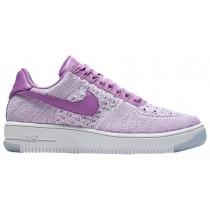 Nike Air Force 1 Low Flyknit Fuchsie-Glühen Damen Sneakers