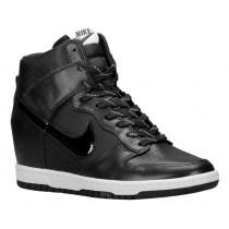 Nike Dunk Sky Hi Essential/Wedge Schwarz/Weiß Damen Sportschuhe