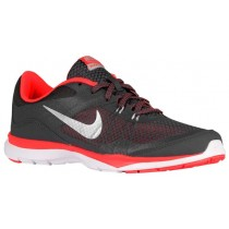 Damen Nike Flex Trainer 5 Dunkel Grau/Metallic Silber/Hyper Orange/Schläue Runningschuh