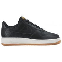 Nike Air Force 1 '07 Low Premium Damen Trainers Schwarz/Weiß