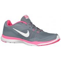 Damen Nike Flex Trainer 5 Cool Grau/Lava Glühen/Dunkel Grau/Weiß Gymnastikschuhe