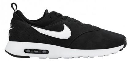 Nike Air Max Tavas Suede Herren Running Schuhe Schwarz/Weiß