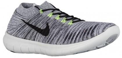 Nike Free Rn Motion Herren Schuhschaft Schwarz/Volt/Aus Weiß
