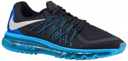 Nike Air Max 2015 Herren Laufschuhe Dunkel Obsidian/Blau Lagoon/Copa/Weiß