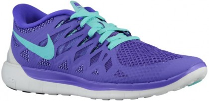Nike Free 5.0 2014 Damen Sneakers Hyper Traube/Court Perle/Summit Weiß