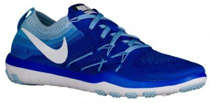 Nike Free Tr Focus Flyknit Damen Schuhschaft Rennfahrer Blau/Weiß