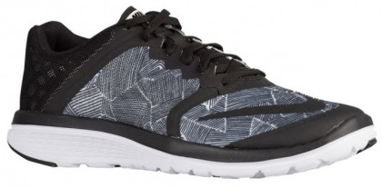 Nike Fs Lite Run 3 Print Schwarz/Weiß/Schwarz Damen Laufschuhe