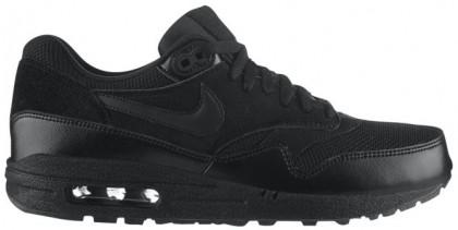 Herren Nike Air Max 1 Essential Schwarz Laufschuhe
