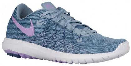 Nike Flex Fury 2 Blau Grau/Ozean Fog/Weiß/Urban Lilac Damen Laufschuh