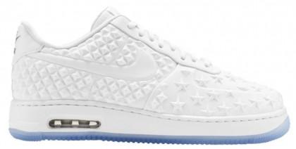 Nike Air Force 1 Low Weiß/Chrom Herren Sportschuheschuhechuhe.