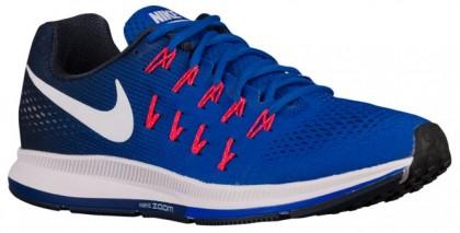 Nike Air Zoom Pegasus 33 Rennfahrer Blau/Midnacht Marine/Blau Glühen/Weiß Herrenschuh