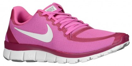 Nike Free 5.0 V4 Rosa Damen Runningschuh