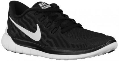 Damen Nike Free 5.0 2015 Schwarz/Dunkel Grau/Taube Grau/Weiß Laufschuhe