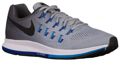 Nike Air Zoom Pegasus 33 Wolf Grau/Blau Glühen/Eintracht/Schwarz Herren Runningschuh