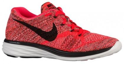 Herren Nike Flyknit Lunar 3 Hell Crimson/Hyper Orange/Summit Weiß/Schwarz Trainingsschuhe